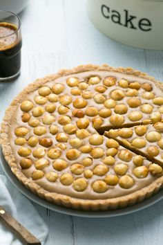 This tart will rock your world. Oh yum. Oh so good. Oh salted caramel...