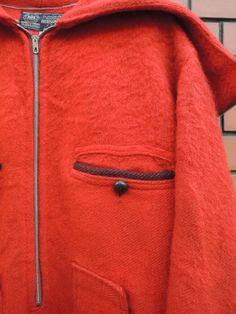 ~40's HUDSON'S BAY blanket coat