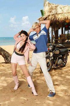 Teen Beach Movie Ross lynch is so cute I think he likes me <3<3<3 me grace phipps