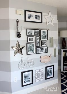 5 Tips for Creating the Perfect Gallery Wall For Your Apartment Treatment Projects Care Design home decor Decoration Photo, Home And Deco, My New Room, Home Projects, Living Room Decor, Living Rooms, Family Room, Family Photo Walls, Picture Walls
