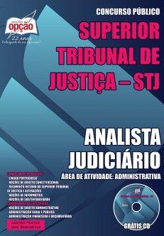 Apostila para o concurso do STJ Analista judiciário 2017
