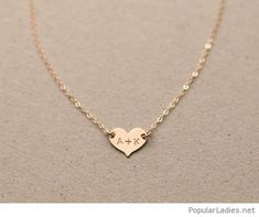 I want this heart necklace