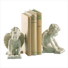 bookends | SR33570 Romantic Cherub Bookends