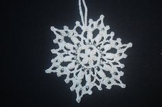Ravelry: Snowflake #12 pattern by Patricia Kristoffersen