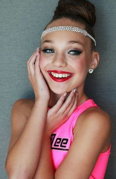 This is Maddie Ziegler from Dance Moms. She is my favourite dancer on the show and she is amazing! Go Maddie!!