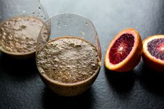 Blood Orange Smoothie With Grapes and Red Quinoa Recipe - NYT Cooking