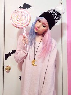 Pastel Goth Fashion, Pastel Grunge