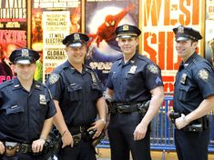 NYPD cops are one West Side Story that will win Tony Award tonight! Cop Uniform, Police Uniforms, Men In Uniform, Police Officer, Hot Cops, New York Police, Police Cars, Law Enforcement, Sexy Men