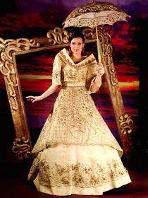 The traditional Maria Clara