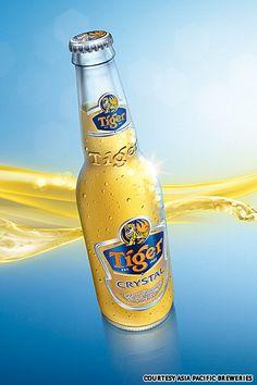 Tiger Beer - Crystal   Tiger's 'light beer' offering.