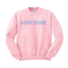 Very Rare Crewneck Sweater, 80's Vaporwave, Throwback Shirt, Kawaii Pastel Goth, Tumblr Shirt, Text Saying Shirt, Unique Original