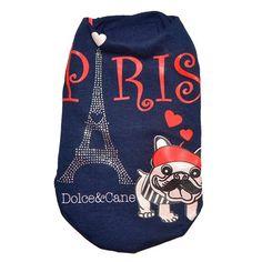 Casaco Paris Dolce & Cane - MeuAmigoPet.com.br #petshop #cachorro #cão #meuamigopet