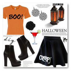 """DIY Halloween Costume"" by angelstar92 ❤ liked on Polyvore featuring Forever 21, Accessorize, Anja, Pier 1 Imports and diycostume"