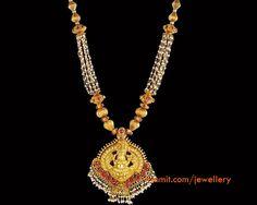 gundu mala with lakshmi pendnat