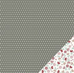Pebbles We Go Together Budding Romance Valentines Scrapbook Paper - 11 Main