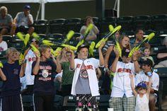 Middle Atlantic Team cheering on a fellow Cal Ripken World Series team!