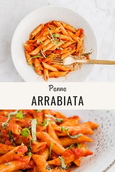 Irresistible Penne Arrabiata with a slightly fiery note! This Pasta Arrabiata Recipe is super easy and quick to prepare and makes a perfect dinner served in no time! Pasta Recipes Video, Italian Pasta Recipes, Easy Pasta Recipes, Easy Healthy Recipes, Vegetarian Recipes, Vegetarian Italian, French Recipes, Healthy Italian Recipes, Pasta Arrabiata Recipe