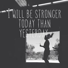 stronger today.