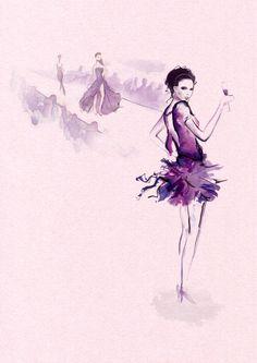 Chambord Girls - Aldous Massie – Design & Illustration