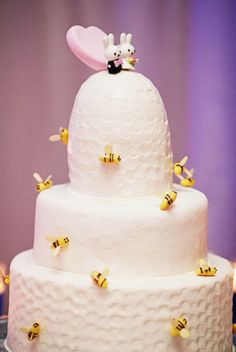 Miffy wedding cake toppers