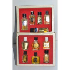Vintage Parfums of France Miniature Set