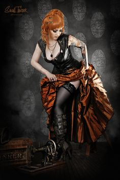 arsenicinshell:Steampunk no.2 by snottling1