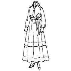 Amazon Drygoods - Ladies' Dress with Long Sleeves and Tie, $21.25 (http://www.amazondrygoods.com/products/ladies-dress-with-long-sleeves-and-tie.html)