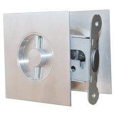 Manor By Fpl Solid Brass Pocket Door Mortise Lock Set In