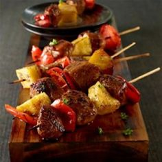 TERRIYAKI PORK KABOB⁠ ⁠ see website for instructions:- www.blackknightdirect.co.uk ⁠ ⁠ ------------------------------------ ⁠ #blackknightbarbecues #bbq #grill #food #grilling #brickbbqkit #sun #summer #hot #barbecue #meat #grilling Healthy Grilling Recipes, Healthy Meals For Two, Grilling Tips, Pork Kabobs, Kebabs, Skewers, Grilled Shrimp Recipes, Pork Ribs, Food Videos