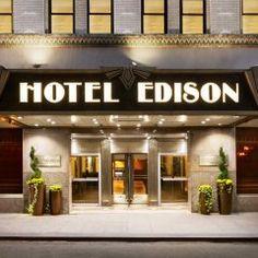 Times Square Photos | Hotel Edison