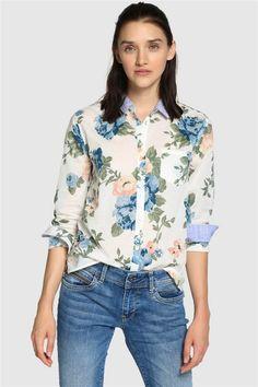 7bffe06fee rebajas 2018 tiendas low cost invierno camisa flores pepe jeans. ¡Hola