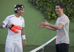 CR7 vs Rafael Nadal