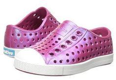837ae2be8d5 Native Shoes Jefferson Iridescent Slip-On Sneaker - Raspberry Red  Shell  White  Galaxy