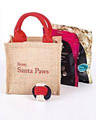Santa Paws Dog Treat Bag