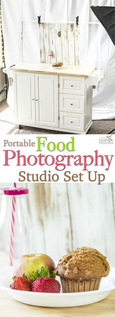 A food photographer's dream come true! Get the inside look at this portable food photography studio! This awesome studio setup is…