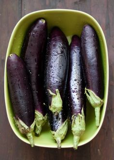 Beautiful fresh aubergine from www.purevege.com