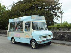 Bluebelle the Vintage Ice Cream Van