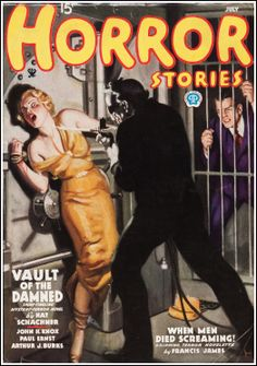 pulp horror | Dime Mystery and Horror Stories-Pulp Covers