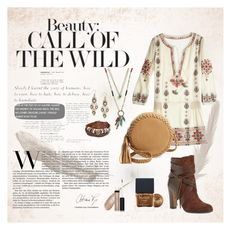 """""""Boho Chic style"""" by dellaila on Polyvore featuring Big Buddha, Vince Camuto, Bling Jewelry, Lucky Brand, Robert Rose and Butter London"""