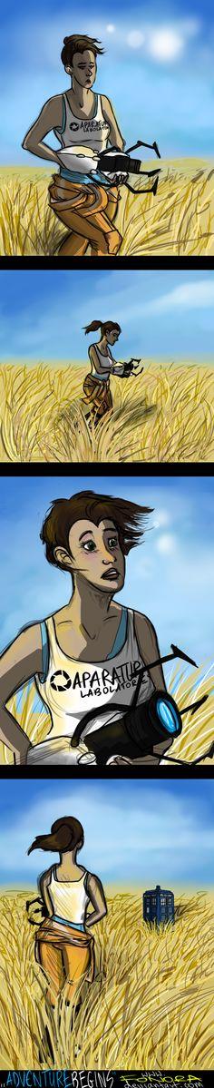 Adventure Begins by Fonora.deviantart.com on @deviantART