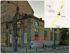 TREZOR (deposit box) is located at the Mediateka's building's right side in Widok Street. Open 24/7! ^^