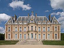 Château de Sceaux - a grand country house in Sceaux, Hauts-de-Seine, not far from Paris, France.
