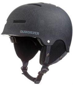 2014 Quiksilver Gravity Zone Flex Snowboard Helmet Grey - Mens
