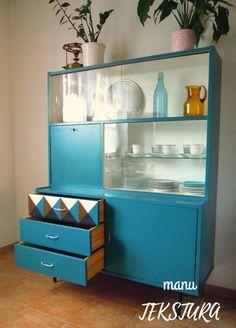 G Plan Furniture, Diy Home Furniture, Retro Furniture, Upcycled Furniture, Furniture Projects, Furniture Makeover, Painted Furniture, Diy Home Decor, Retro Sideboard