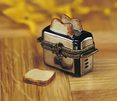Limoges Stainless Steel Toaster Box