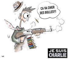 """Gironde : voici vos dessins en hommage à """"Charlie Hebdo"""" - SudOuest.fr"""