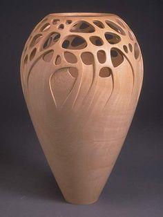 woodturning vases