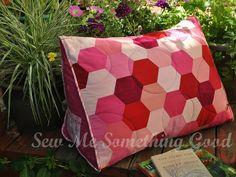Sew Me Something Good Triple Hex Reading Pillow