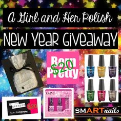 A Girl and Her Polish: New Year Giveaway!
