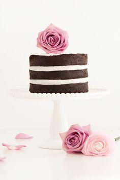 Naked Chocolate Cake   Sprinkles for Breakfast
